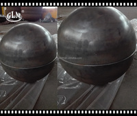alibaba hot sale 800*6mm 900*6 mm carbon steel sphere head for fire pits
