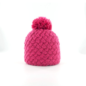 wool acrylic designer winter hat knitted fleece leather beanie
