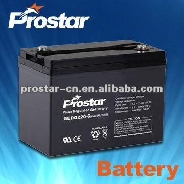 12v 600ah stationary back up batteries