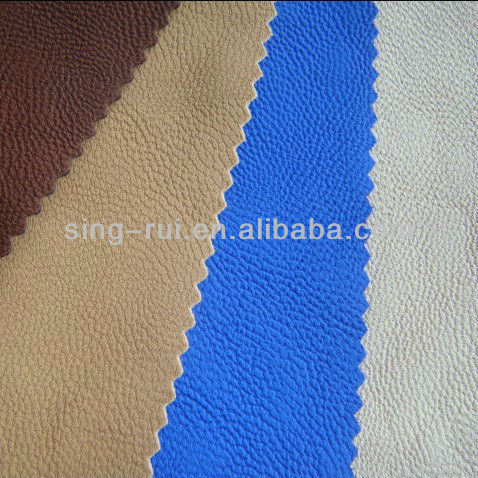 PU Leather Sheep Skin Materials To Make Sandal (cuerina sitetica)