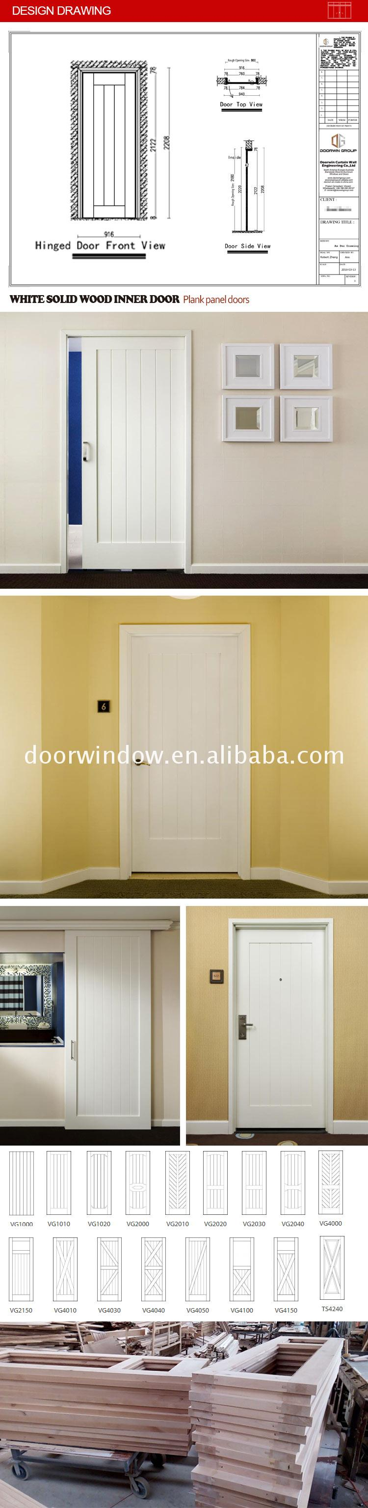 China Big Factory Good Price living room door ideas design light oak veneer doors