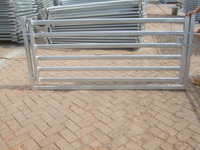 6ft Galvanized Goat Sheep Cattle Hurdles with 6 Bars