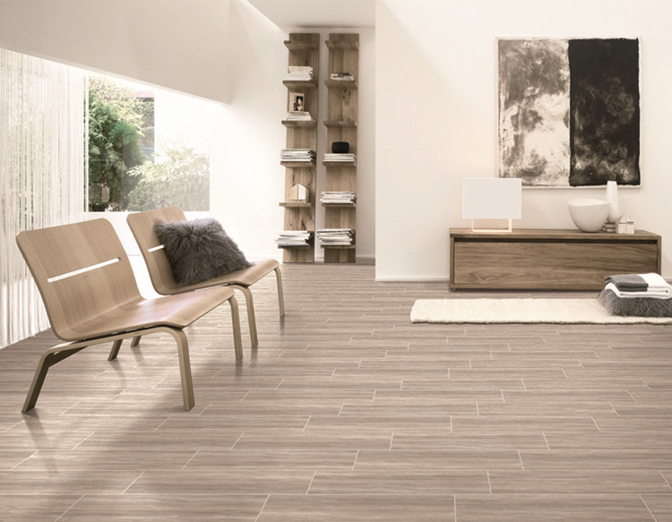 Wood Look Ceramic Granite Floor Tile