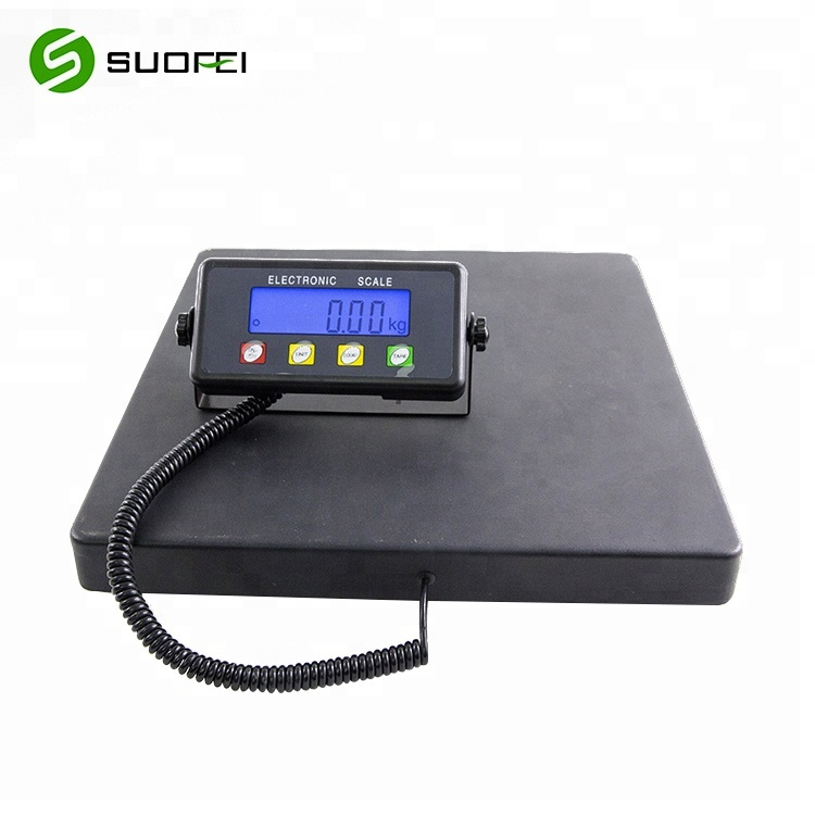 LCD Digital Scale Postal Platform Shipping/Pet 200KG Weigh scale SF886