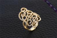 JR0163-Latest Gold Finger Ring Design for Women 925 Sterling Silver Quality