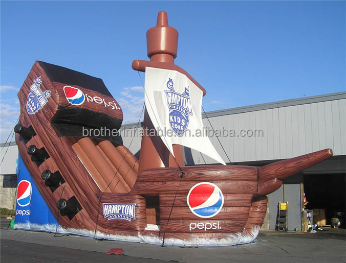 inflatable sea rover/giant inflatable corsair/ Seven Seas Deluxe for decor