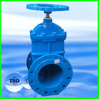 DIN3352 F4 / BS5163 Non rising stem resilient wedge gate Valve PN16