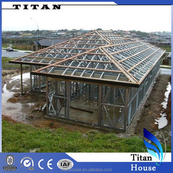 1 Floor 100m2 Light Steel Frame Fabricated Kit Homes
