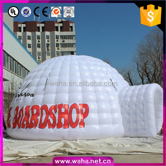 8m cube igloo inflatable tent/dome tent/marquee tent & 10m dome inflatable marquee_Yuanwenjun.com