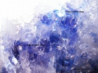 pakistani RMY 003 best quality persian blue salt and blue salt lamps
