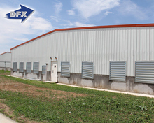 Big Discount Mechanized Galvanized Steel Structure Pig Poultry Farming House