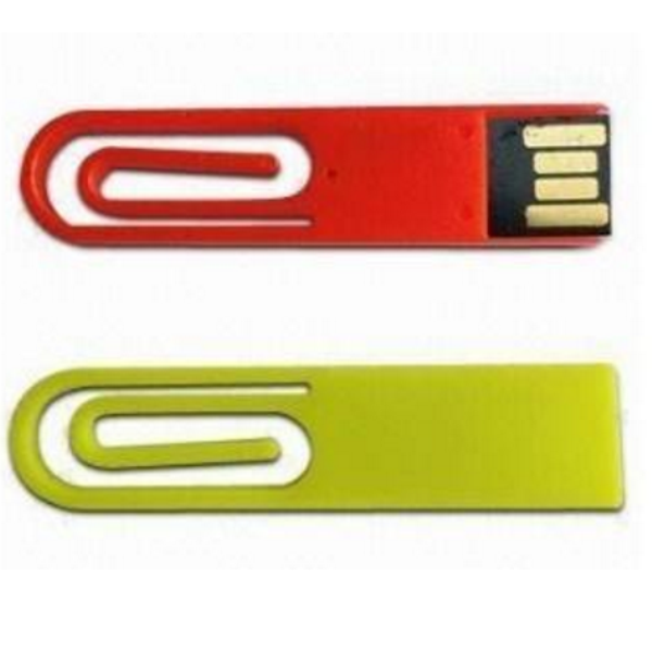 Best promotion gifts bookmark usb 2.0, mini paper clip plastic usb flash momo clip pendrive key 4GB 8GB 16GB various colors