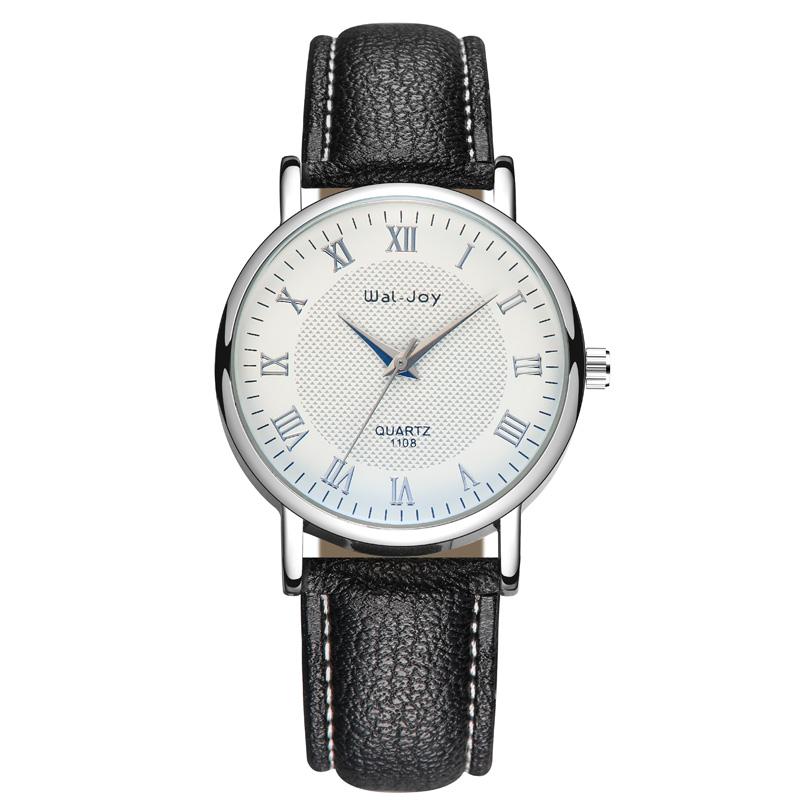 WJ-8101 Made In Yiwu Factory Direct Quartz Watch Wholesale Low MOQ OEM Wristwatch High Quality Leather Watch фото