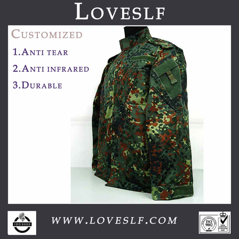 New Style Camouflage BDU,digital camouflage military uniform Made in China