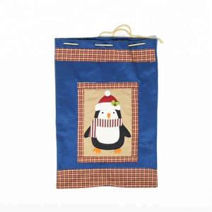 Plain Applique Party Christmas Gift Bag