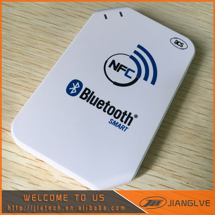 13.56MHz Wireless Bluetooth Mobile Nfc Smart Card Reader with SDK kit -ACR1255