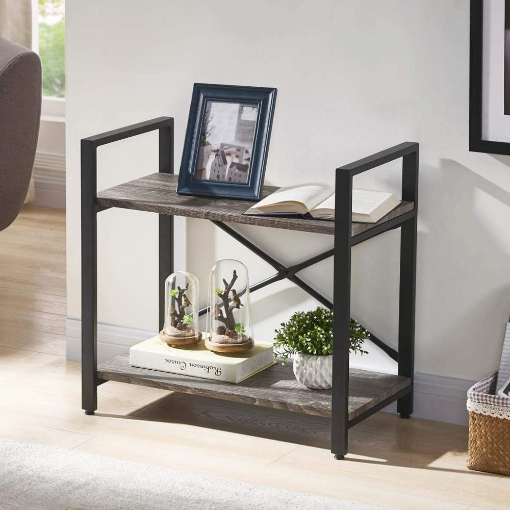 Small Low 2 Shelf Bookcase Rustic Etagere Bookshelf Small Open Shelf Dark Oak Buy Small Low 2 Shelf Bookcase Rustic Etagere Bookshelf Modern Home