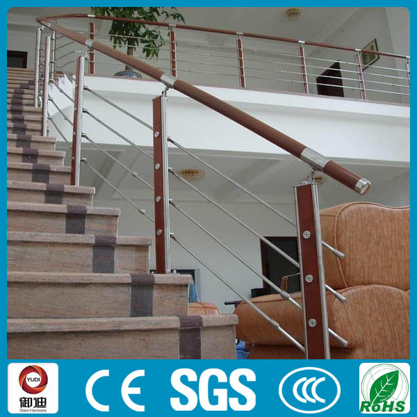 popular new design balcony railing wood