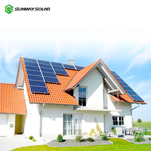 On Grid Solar PV Panel 4kw Home Use Solar Energy System