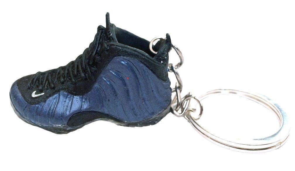 979cdcd4c1d Get Quotations · JWONG 2010 Nike Air Foamposite One Royal 3D Keychain Laces  Not Detachable