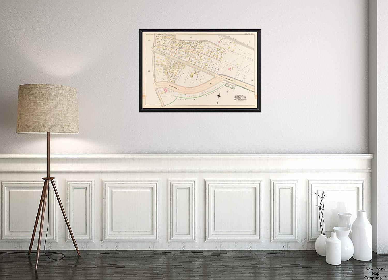 Wall Map Large 50.75 x 38.25 Laminated Ontario Postcode FSAS