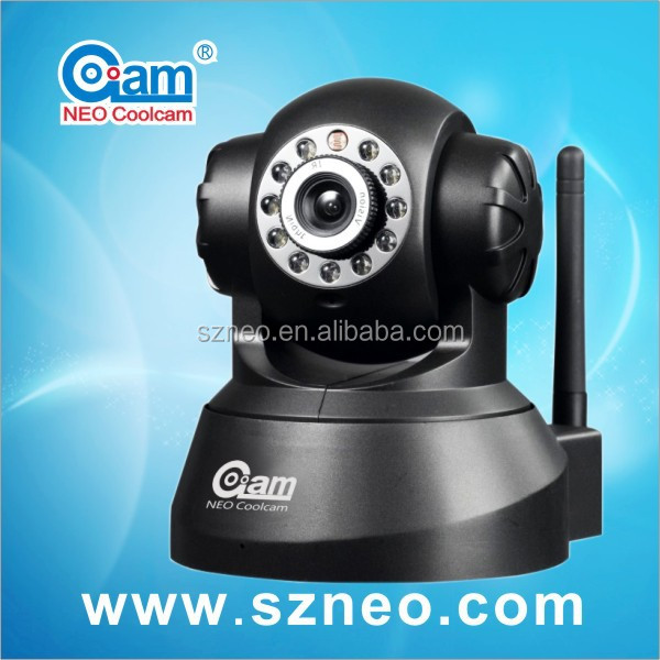 Mini wif Pan/Tilt nightvision baby moitor smac wireless security camera NEO coolcam