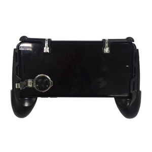 New arrival Phone game controller 4 in 1handle with V6 shooting trigger Mini Joypad Mobile Phone Joystick for PUBG