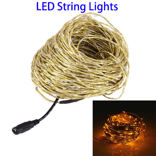 Copper Wire Led String Light For Christmas Decoration, Christmas Led Lights String for Home and Garden
