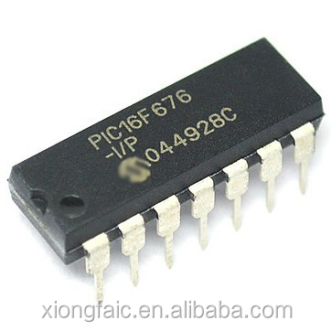 (Electronic Components) PIC16F676-I/P