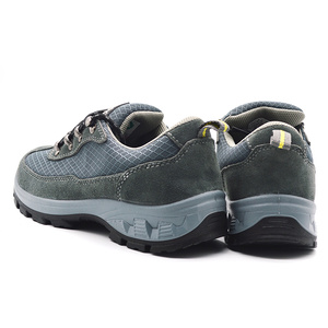 FH1961 LightWeight cheap price dual density pu /pu outsole Industrial Safety Shoes for steel industry