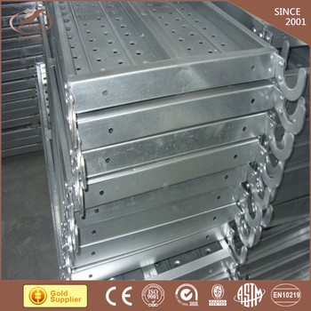 used scaffolding for sale scaffolding steel plank 500*1800mm steel plank scaffolding steel catwalk walk through metal detector