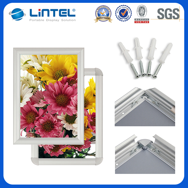 Aluminum snap frame cheap digital picture shopping