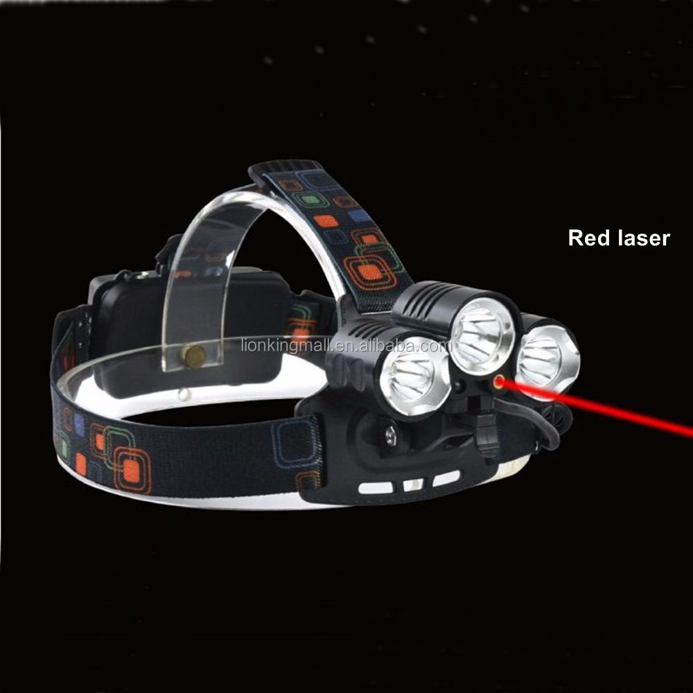 AloneFire HP92 8000Lm xml T6 led headlight head lamp 18650 rechargeable battery flashlight head torch lights+battery+charger