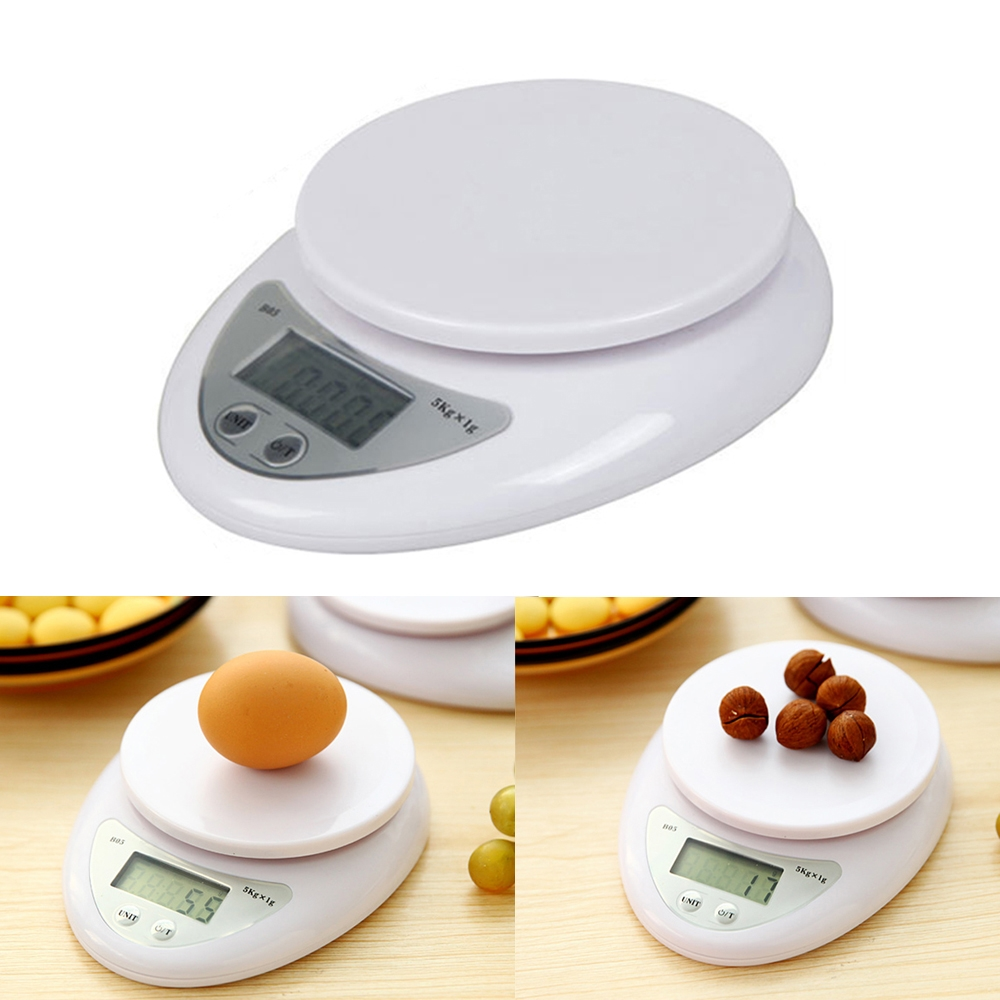 Wholesale cheap 5KG digital electronic glass kitchen scale for promotional