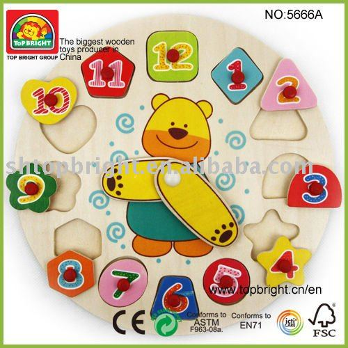 Top Bright clock toy