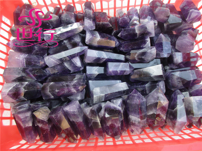 Wholesale natural dream amethyst wand point