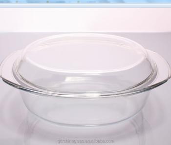 en gros pas cher pyrex ovale plat de cuisson verre plaque de cuisson avec couvercle pyrex verre. Black Bedroom Furniture Sets. Home Design Ideas