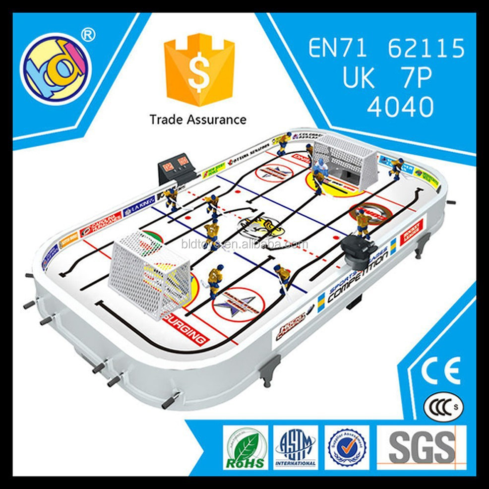 hot selling electronic hockey table game desktop game hockey table game