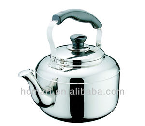 promotional stainless steel whistling kettle