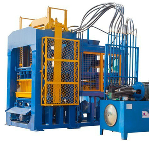 QT6A-15 interlocking paver making machine brick manufacturing machine industrial concrete block making machine