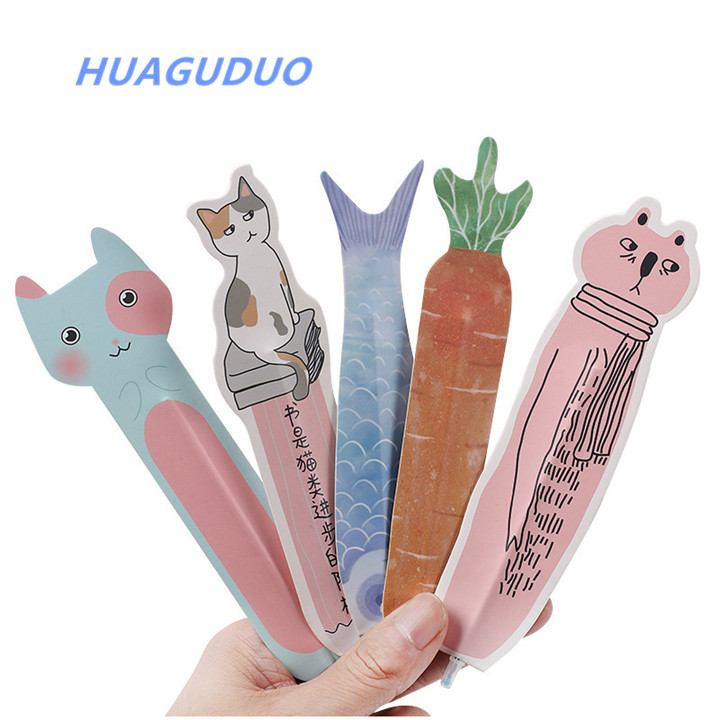 Czech Republic hot sale wholesale school stationery creative animal shaped cool ballpoint <strong>pen</strong> Multifunction bookmark <strong>pen</strong>