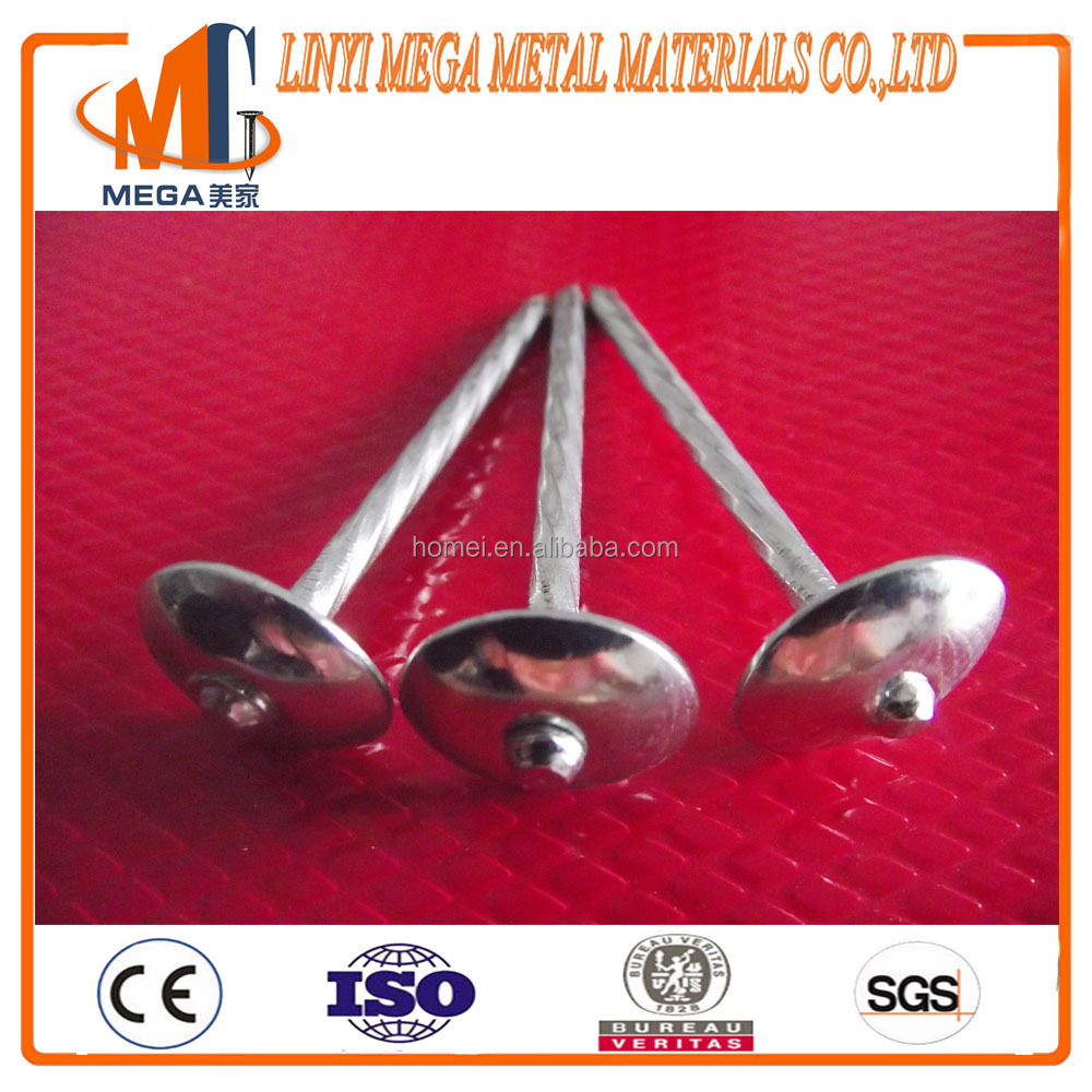 good price and high quality have asbestos roofing nails with umbrella head