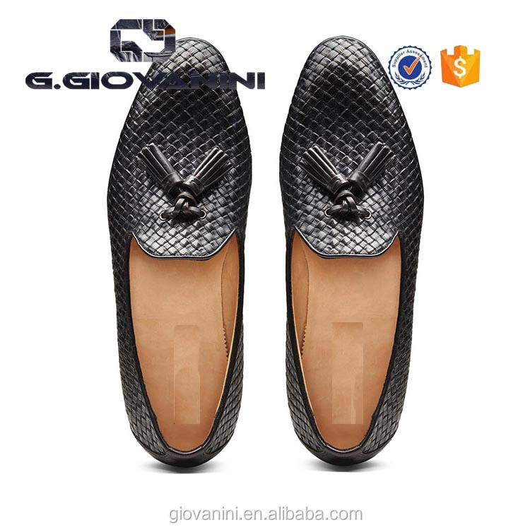 loafers Top stylish leather 2018 shoes quality handmade mens woven 1zZBwCq