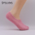 Factory Direct Custom Cotton Solid Color Non Slip Liner Silicone China Summer Invisible Women Socks