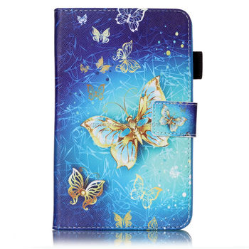 Printed PU leather case for Samsung Galaxy T280, Credit card pouch for Galaxy T280