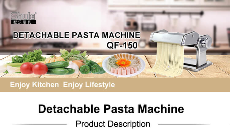 Cutting Machinery A Dough Sheeter Machine Manual Detachable Pasta Machine 150mm for Fresh Noodles at Home Sheeter