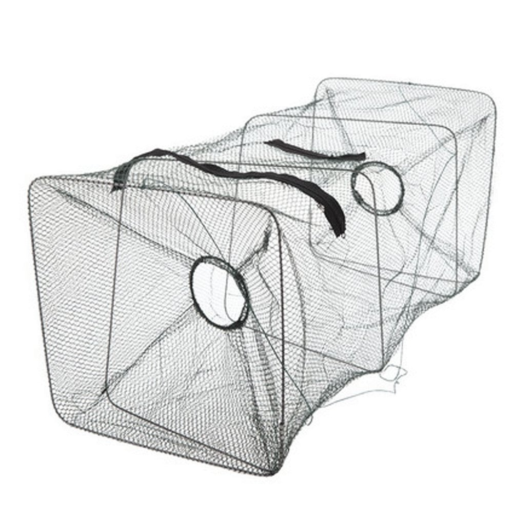 Fishing Bait Trap Fish Net Cage Crab Shrimp Camping Cooking Stuff Outdoor Activity
