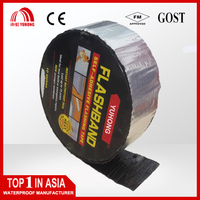 Waterproofing tape bitumen based aluminium flash band for roofing waterproofing
