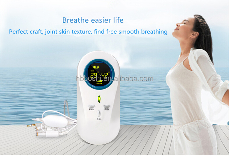 New invention laser allergic rhinitis medical chinese physiotherapy equipment
