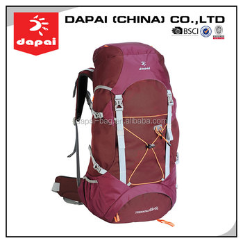 best quality cheap outdoor adventure custom hiking backpack